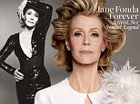 Read the full story and see more photos: http://www.wmagazine.com/people/celebrities/2015/05/jane-fonda-cover-interview/ \nWatch the video interview with Jane Fonda (as part of W¿s Screen Tests): https://thescene.com/watch/w/jane-fonda-interview \n \nSex symbol, Oscar-winning actress, fitness queen, and now, at age 77, TV star. Behold the unstoppable Jane Fonda. \nBy Lynn Hirschberg \nPhotographs by Steven Meisel \nStyled by Edward Enninful \n \n¿I think it¿s a hoot that, at my age, people are calling me a fashion icon.¿ \n \nOn the Balmain jumpsuit she wore at the Grammy Awards this past February: ¿I suppose I¿ve always known what I like on my body.¿ ¿I took one look at that Balmain jumpsuit, and I said, ¿That¿s it!¿ I¿m best when I¿m wearing something structured, with no frills or bows. Something that will show my waist and bum, because I¿ve always had a good bum.¿\n \n¿Truthfully, my relationship to fashion has always been strained. When I was starting out as an actress in New York