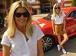 Mandatory Credit: Photo by Hannah Young/REX Shutterstock (4778897g)  Mollie King  McArthur Glen Cash & Rocket lunch, Serrevalle, Italy - 18 May 2015