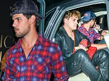 Laylor Lautner and friend leaving club Nice Guy in Hollywood  may 15, 2015