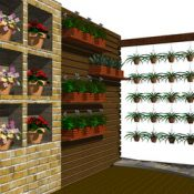The Vertical Container Gardens