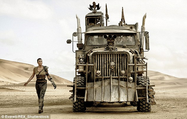 Second comes right after first: Fury Road which stars Tom Hardy and Charlize Theron only managed second place with its $44million, despite rave reviews