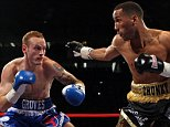 James DeGale (R) of England fights George Groves of England in the British and Commonwealth Super-Middleweight Championship during World Championship Boxing at The O2 Arena  on May 21, 2011 in London, England.    LONDON, ENGLAND - MAY 21:  (Photo by Julian Finney/Getty Images)
