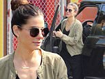 """Picture Shows: Sanda Bullock  May 20, 2015\n \n 'Gravity' star Sandra Bullock runs errands in the morning in Los Angeles, California.\n \n Sandra admitted to Ellen on her talk show yesterday that she's very excited for the new """"Magic Mike XXL"""" movie.\n \n Exclusive - All Round\n UK RIGHTS ONLY\n Pictures by: FameFlynet © 2015\n Tel : +44 (0)20 3551 5049\n Email : info@fameflynet.uk.com"""