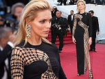 CANNES, FRANCE - MAY 20:  Anja Rubik attends the premiere of  'La Giovinezza' during the 68th annual Cannes Film Festival on May 20, 2015 in Cannes, France.  (Photo by Gisela Schober/Getty Images)