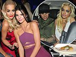 CAP D'ANTIBES, FRANCE - MAY 21: Model Jourdan Dunn, Singer Rita Ora and Model Kendall Jenner attend amfAR's 22nd Cinema Against AIDS Gala, Presented By Bold Films And Harry Winston at Hotel du Cap-Eden-Roc on May 21, 2015 in Cap d'Antibes, France.  (Photo by Gisela Schober/Getty Images)