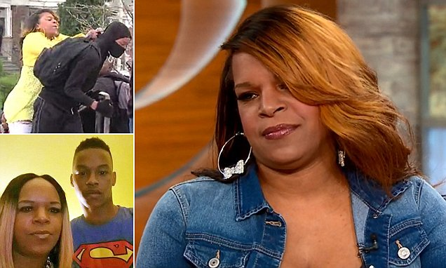 Baltimore mom Toya Graham who chased her son from riots reacts to praise