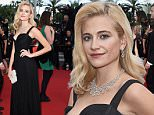 """CANNES, FRANCE - MAY 21:  Pixie Lott attends the Premiere of """"Dheepan"""" during the 68th annual Cannes Film Festival on May 21, 2015 in Cannes, France.  (Photo by Ben A. Pruchnie/Getty Images)"""
