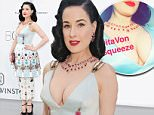 CAP D'ANTIBES, FRANCE - MAY 21:  Model Dita Von Teese attends amfAR's 22nd Cinema Against AIDS Gala, Presented By Bold Films And Harry Winston at Hotel du Cap-Eden-Roc on May 21, 2015 in Cap d'Antibes, France.  (Photo by Tristan Fewings/Getty Images)