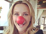 reesewitherspoonHow do y'all like my nose? ?? Remember to tune in to #NBC at 8 PM ET for #RedNose Day. I promise you'll laugh a lot and raise money for great causes. Not bad for a Thursday!? ?? #RedNoseDayUSA