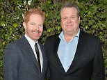"""LOS ANGELES, CA - MAY 19:  Actors Jesse Tyler Ferguson and Eric Stonestreet attend a """"Modern Family"""" Wedding episode screening at Zanuck Theater at 20th Century Fox Lot on May 19, 2014 in Los Angeles, California.  (Photo by Alberto E. Rodriguez/Getty Images)"""