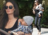 137600,EXCLUSIVE: Nicole Trunfio seen having a lunch meeting at a Los Angeles hotel with husband Gary Clark Jr and their new baby . Los Angeles, California - Thursday May 21, 2015. Photograph: © PacificCoastNews. Los Angeles Office: +1 310.822.0419 sales@pacificcoastnews.com FEE MUST BE AGREED PRIOR TO USAGE