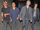 GARY LINEKER TAKES HIS SONS TO THE STREET FEAST CHARITY AUCTION NIGHT IN LONDON.THURSDAY 21ST MAY 2015 - MAGICMOMENTSUK - 07753 30 30 77