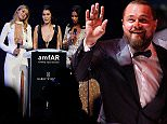 (From L) US model Gigi Hadid, US model Bella Hadid and US model Chanel Iman conduct the auction during the amfAR 22st Annual Cinema Against AIDS on the sidelines of the 68th Cannes Film Festival at Hotel du Cap-Eden-Roc in Cap d'Antibes, southern France, on May 21, 2015. AFP PHOTO / VALERY HACHEVALERY HACHE/AFP/Getty Images