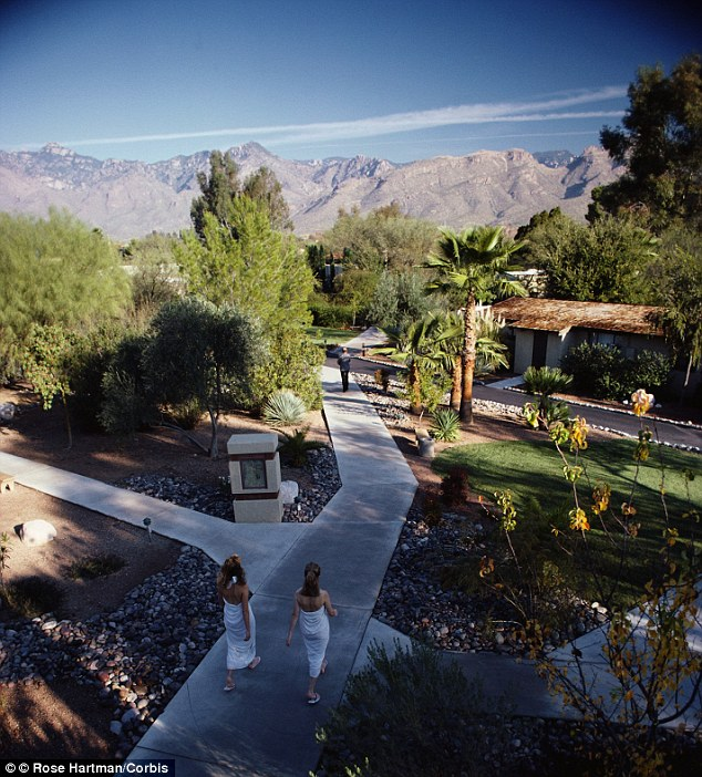 Finding peace: Canyon Ranch health resort in Tuscon is an 150 acre haven in the Sonoran Desert, Arizona