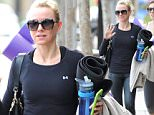 Naomi Watts left her Brentwood yoga class looking pretty buff.  The movie star's legs and torso were on full display in her tight gym outfit, on Friday, May 22, 2015 X17online.com