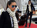Emma Miller arriving at the airport during the 68th Cannes Film Festival.  Pictured: Emma Miller Ref: SPL1035160  230515   Picture by: Splash News  Splash News and Pictures Los Angeles: 310-821-2666 New York: 212-619-2666 London: 870-934-2666 photodesk@splashnews.com