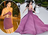 CAP D'ANTIBES, FRANCE - MAY 21:  Model Kendall Jenner attends amfAR's 22nd Cinema Against AIDS Gala, Presented By Bold Films And Harry Winston at Hotel du Cap-Eden-Roc on May 21,  (Photo by George Pimentel/amfAR15/WireImage)