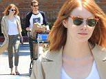 Actress Emma Stone and Spider-Man costar, Andrew Garfield, were spotted out grocery shopping together, rekindling their romance. Saturday, May 23, 2015 X17online.com