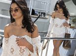 Top Model and Victoria's Secret Angel Shanina Shaik leaving a yacht during 68th annual Cannes Film Festival 2015.....Pictured: Shanina Shaik ..Ref: SPL1034419  220515  ..Picture by: MCvitanovic / Splash News....Splash News and Pictures..Los Angeles: 310-821-2666..New York: 212-619-2666..London: 870-934-2666..photodesk@splashnews.com..