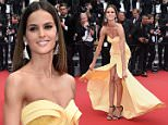 """CANNES, FRANCE - MAY 24:  Model Izabel Goulart attends the closing ceremony and """"Le Glace Et Le Ciel"""" (""""Ice And The Sky"""") Premiere during the 68th annual Cannes Film Festival on May 24, 2015 in Cannes, France.  (Photo by Venturelli/WireImage)"""