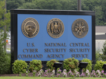FILE In this June 6, 2013 file photo, a sign stands outside the National Security Agency (NSA) campus in Fort Meade, Md.   The National Security Agency has begun winding down its collection and storage of American phone records this week after the Senate failed to agree on a path forward to change or extend the once-secret program ahead of its expiration at the end of the month.  (AP Photo/Patrick Semansky, File)