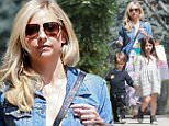 23.MAY.2015 - BRENTWOOD - USA\n*STRICTLY AVAILABLE FOR UK AND GERMANY USE ONLY*\n** EXCLUSIVE ALL ROUND PICTURES *\nSARAH MICHELLE GELLAR TAKES HER CHILDREN, CHARLOTTE GRACE AND ROCKY JAMES TO A BIRTHDAY PARTY AT ALYSON HANNIGAN'S HOUSE IN BRENTWOOD\nBYLINE MUST READ : XPOSUREPHOTOS.COM\n***UK CLIENTS - PICTURES CONTAINING CHILDREN PLEASE PIXELATE FACE PRIOR TO PUBLICATION ***\n*UK CLIENTS MUST CALL PRIOR TO TV OR ONLINE USAGE PLEASE TELEPHONE 0208 344 2007*\n