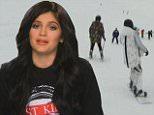 Khloe Kardashian, Kylie Jenner Try to Ski Dangerous Mountain on Keeping Up With The Kardashians