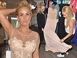 EXCLUSIVE ALL ROUND PICTURE: PALACE LEE / MATRIXPICTURES.CO.UK PLEASE CREDIT ALL USES WORLD RIGHTS Ex The Only Way is Essex star Leah Wright is pictured shopping for a gown for the wedding of her cousin Mark Wright and Michelle Keegan at Bromley Brides in London.  Mark and Michelle are due to marry at Hengrave Hall in Suffolk this weekend. MAY 22nd 2015 REF: LTN 151633