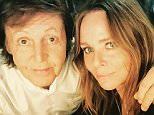 MUST BYLINE: EROTEME.CO.UK FOR UK SALES: Contact Caroline 44 207 431 1598 Celebrity social network pictures. Picture shows: Stella & Paul McCartney NON-EXCLUSIVE     Sunday 24th May 2015 Job: 150524UT1   London, UK EROTEME.CO.UK 44 207 431 1598 Disclaimer note of Eroteme Ltd: Eroteme Ltd does not claim copyright for this image. This image is merely a supply image and payment will be on supply/usage fee only.