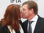 actor & his girl kissed each other on the red carpet tonight !!  Pictured: Sean Bean & his girl-friend kiss on the red carpet @ The IFTAs in Dublin, Ireland. Ref: SPL1035322  240515   Picture by: Mark Doyle / Splash News  Splash News and Pictures Los Angeles: 310-821-2666 New York: 212-619-2666 London: 870-934-2666 photodesk@splashnews.com