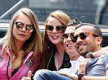 Celebrities attend the Monaco Grand Prix, 24 May 2015. 25 May 2015. Please byline: Vantagenews.co.uk