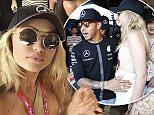 24.05.2015. Monaco, Monte Carlo. Formula One Grand Prix of Monaco.   #44 Lewis Hamilton (GBR, Mercedes AMG Petronas Formula One Team) with Gigi Hadid
