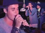 justin bieber performs boys 2 men at the W hollywood