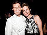 NEW YORK, NY - JUNE 06:  Bobby Flay and Stephanie March attend The Belmont Stakes Charity Celebration Honoring Bobby Flay at Bar Americain on June 6, 2013 in New York City.  (Photo by Daniel Zuchnik/Getty Images)