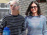 Malibu, CA - Actress Gwyneth Paltrow is spotted arriving at a producer's party in Malibu.  The pretty blonde was seen wearing a striped black and white long-sleeved t-shirt and had her hair pulled back into a simple ponytail.      AKM-GSI       May 25, 2015 To License These Photos, Please Contact : Steve Ginsburg (310) 505-8447 (323) 423-9397 steve@akmgsi.com sales@akmgsi.com or Maria Buda (917) 242-1505 mbuda@akmgsi.com ginsburgspalyinc@gmail.com