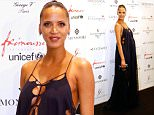 PARIS, FRANCE - MAY 25:  Actress Noemie Lenoir, pregnant, attends the Global Gift Gala : Photocall. Held at Four Seasons Hotel George V on May 25, 2015 in Paris, France.  (Photo by Bertrand Rindoff Petroff/Getty Images)