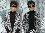 PARIS, FRANCE - JANUARY 27:  Kris Jenner attends the Chanel show as part of Paris Fashion Week Haute Couture Spring/Summer 2015> on January 27, 2015 in Paris, France.  (Photo by Rindoff/Dufour/Getty Images)