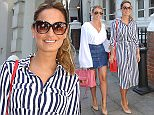 Billie Faiers and Sam Faiers arrive at Malmaison for the launch of their Carlton London shoe range Featuring: Billie Faiers, Sam Faiers Where: London, United Kingdom When: 26 May 2015 Credit: Tim McLees/WENN.com