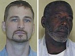 This combination of booking photos provided by the Ohio Department of Rehabilitation and Correction shows: Adam Taylor, left, Joel David Hamlin, center, and William Coffman. The Columbus Police Department recruited the inmates with the help of the state prisons agency to produce an educational YouTube video for the public in which the offenders shared their how-to tips on how to prevent burglaries. (Ohio Department of Rehabilitation and Correction via AP)