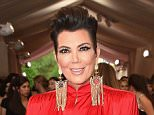 """NEW YORK, NY - MAY 04:  Kris Jenner attends the """"China: Through The Looking Glass"""" Costume Institute Benefit Gala at the Metropolitan Museum of Art on May 4, 2015 in New York City.  (Photo by Larry Busacca/Getty Images)"""