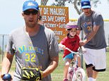 Picture Shows: Adam Sandler  May 24, 2015\n \n Actor and proud dad Adam Sandler takes his daughters Sadie and Sunny to a park in Malibu, California for a day of fun in the sun. Adam is taking a much needed break from filming his new movie, 'The Ridiculous Six,' which has been getting a lot of bad press lately.\n \n Exclusive All Rounder\n UK RIGHTS ONLY\n \n Pictures by : FameFlynet UK © 2015\n Tel : +44 (0)20 3551 5049\n Email : info@fameflynet.uk.com