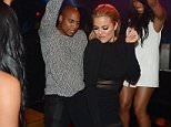 LAS VEGAS, NV - MAY 22:  Dorion Renaud and Khloe Kardashian attend 1 OAK Nightclub Las Vegas at the Mirage Hotel & Casino on May 22, 2015 in Las Vegas, Nevada.  (Photo by Denise Truscello/WireImage)