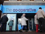 FILE - NOVEMBER 22: An Inquiry Into The Co-op Bank Is Expected To Be Announced Today CREWE, UNITED KINGDOM - NOVEMBER 04:  A general view of the Crewe branch of the  Co-operative Bank on November 4, 2013 in Crewe, United Kingdom. The Co-operative Bank has announced plans to cut its network of branches by at least 15% by the end of 2014 as part of the company's rescue plan.  (Photo by Christopher Furlong/Getty Images)