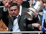 Jose Mourinho Chelsea manager with the FA Cup after victory against Manchester United in the FA Cup Final at Wembley Stadium, London. PRESS ASSOCIATION Photo. Picture date: Saturday May 19, 2007. Photo credit should read: Martin Rickett/PA Wire.    THIS PICTURE CAN ONLY BE USED WITHIN THE CONTEXT OF AN EDITORIAL FEATURE. NO WEBSITE/INTERNET USE UNLESS SITE IS REGISTERED WITH FOOTBALL ASSOCIATION PREMIER LEAGUE.
