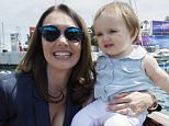 Photograph by Peter Powell.    25-05-2015. This is Tamara Ecclestone with her daughter Sophia during the Monaco Grand prix weekend.