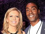LONDON, ENGLAND - MAY 26:  Rachel Riley and Simon Webbe at the inaugural Facebook Football Awards on May 26, 2015 in London, England.  (Photo by John Phillips/Getty Images for Facebook)