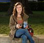 PAULA URIA FROM NORTH LONDON USES AN APP PROVIDED BY HER INSURANCE COMPANY ARRIVA, TO BENEFIT FROM A FREE DRINK FROM NERO'S EACH MONDAY.©R