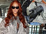 Mandatory Credit: Photo by Beretta/Sims/REX Shutterstock (4793466e)\n Rihanna\n Rihanna out and about, London, Britain - 27 May 2015\n Rihanna was pictured leaving Claridges and arriving at Heathrow Airport\n