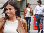 Exclusive... 51746421 Reality star Bethenny Frankel is spotted holding hands with a new mystery man in New York City, New York on May 18, 2015. Looks like Bethenny has already moved on from recent love interest Michael Cerussi! NO INTERNET USE WITHOUT PRIOR AGREEMENT FameFlynet, Inc - Beverly Hills, CA, USA - +1 (818) 307-4813