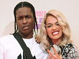 LOS ANGELES, CA - SEPTEMBER 06:  (L-R) Rapper A$AP Rocky and singer Rita Ora arrive at the 2012 MTV Video Music Awards at Staples Center on September 6, 2012 in Los Angeles, California.  (Photo by Steve Granitz/WireImage)